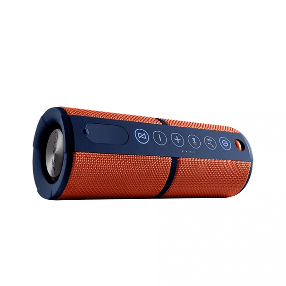 Caixa de Som Waterproof com Bluetooth Laranja Pulse - SP246