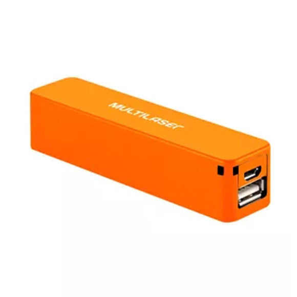 Carregador Multilaser Smartogo Power Bank 2200mah Laranja -