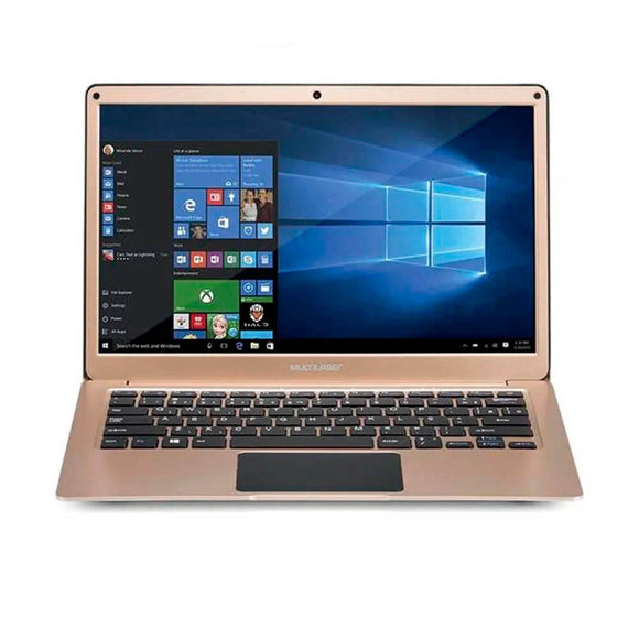 Notebook Multilaser 13.3 Pol 4Gb 64Gb Windows 10 Dual Core D