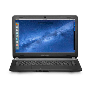 "Notebook Urban Intel Core i3 4GB 120GB SSD 14"" Linux Multila"