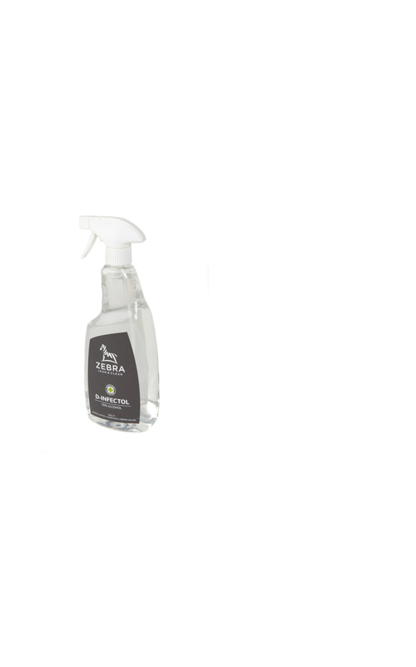 ZEBRA D-INFECTOL Spray d'alcool