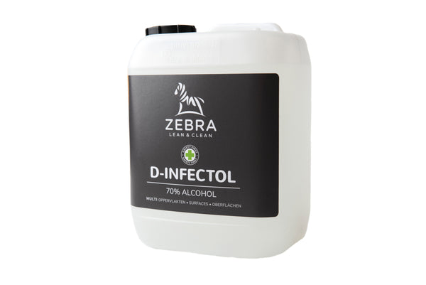 D-INFECTOL Desinfecterende Alcohol Navulling (5L)