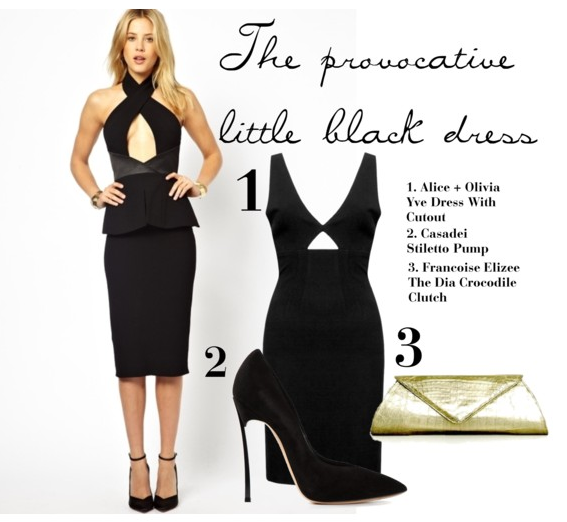 "5 Ways to wear the ""Little Black Dress"""