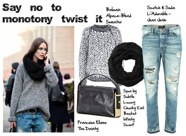 Chic Tips & Tricks On How to wear a sweater in Autumn 2014