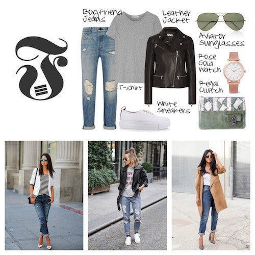 How to wear boyfriend jeans everyday
