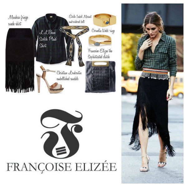 The Fringed Skirt your fashion inspiration for 2016