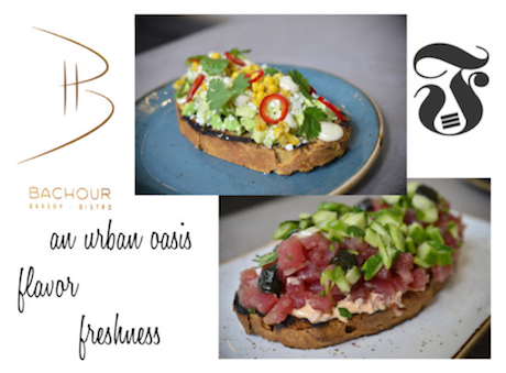 Bachour Bakery + Bistro Heaven on a plate