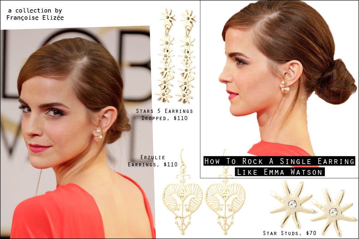 How to rock a single earring
