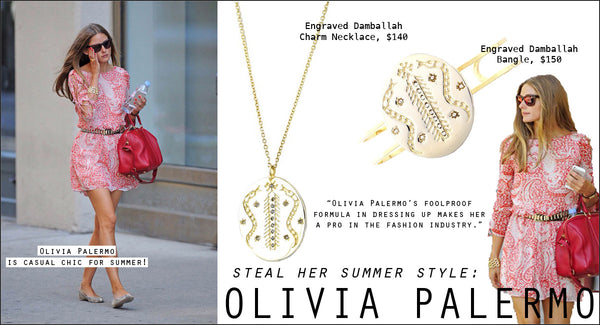 Steal her summer style: Olivia Palermo