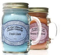Our Own Candle Company Soy Mini Mason Jar Candles