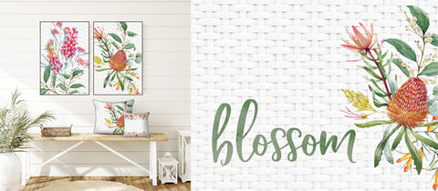 Blossom Beautiful Home Serveware Table Decor and House Decorations @pazaz online by Kelly Lane Art