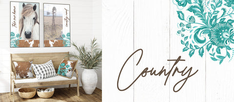 Country Home & Garden Decor @pazaz online by Kelly Lane