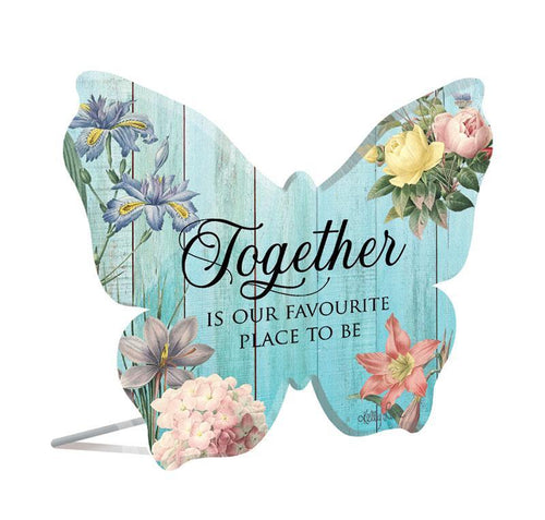 Sentiment 13x15 3D Heirloom TOGETHER