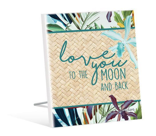 Sentiment Plaque 12x15 3D Paradise MOON