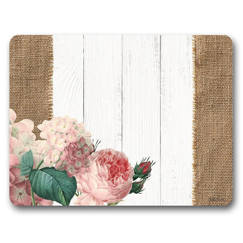 Placemat S/6 34x26.5 Heirloom FLORAL
