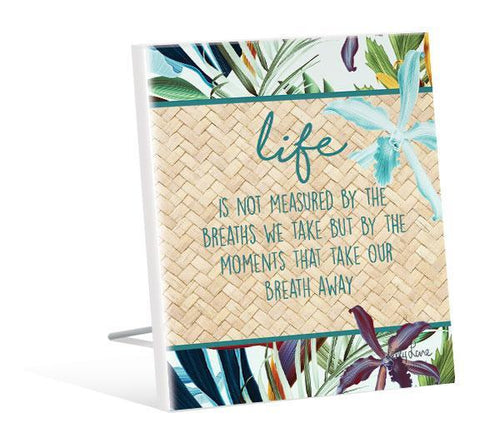 Sentiment Plaque 12x15 3D Paradise LIFE
