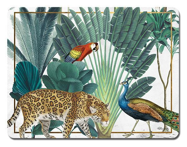 Placemat S/6 34x26.5cm St Barts JUNGLE