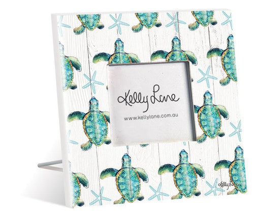 Photo Frame 20x20 4x4 3D Turtles PATTERN