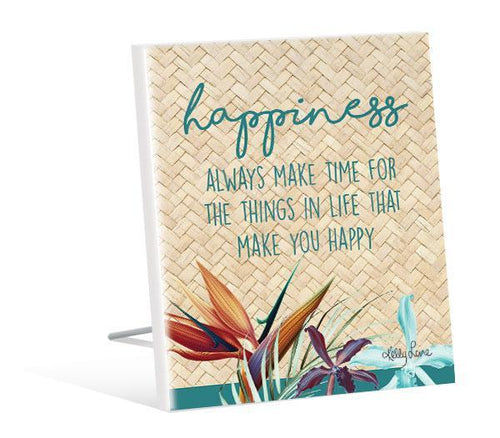 Sentiment 12x15 3D Paradise HAPPINESS