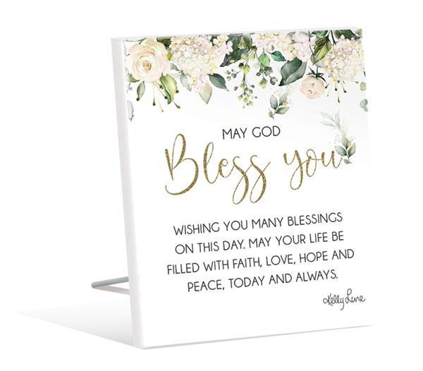Sentiment 12x15 3D Occassions BLESS YOU