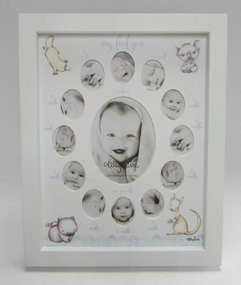 Baby 1st Year Baby Critters COLLAGE BOY