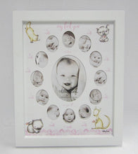 Load image into Gallery viewer, Baby 1st Year Baby Critters COLLAGE GIRL