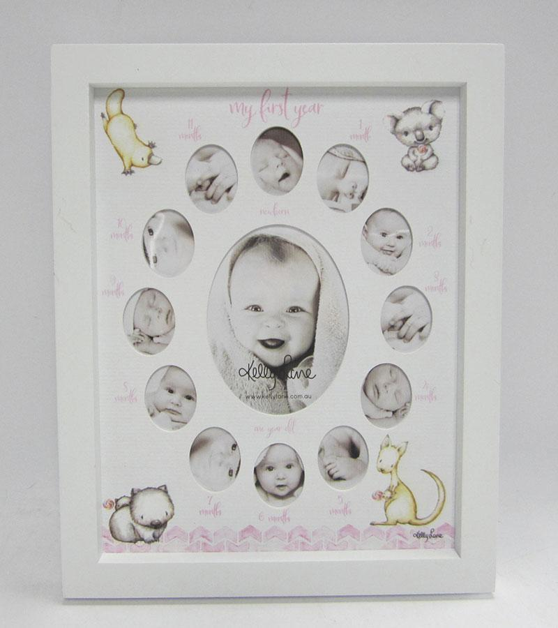 Baby 1st Year Baby Critters COLLAGE GIRL