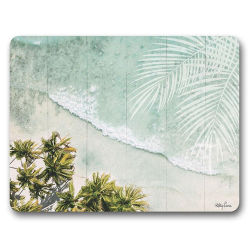 Placemat S/6 34x26.5 Oasis BEACH