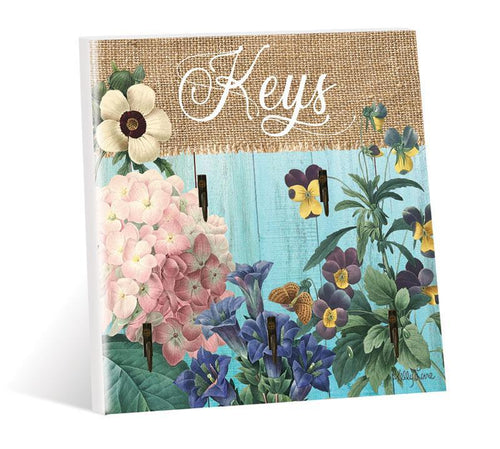 Key Hook 20x20 3D Heirloom
