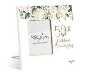 Photo Frame 20x20 6x4 3D Occassions 50th