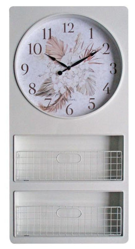 Iron Wall Clock 47X97 Bismark