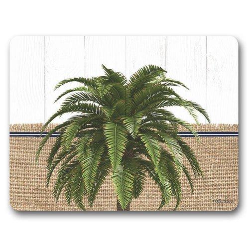 Placemat S/6 29x21.5 Oasis PALM