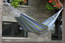 Load image into Gallery viewer, Raw Cotton Oasis Deluxe Brazillian Double Hammock