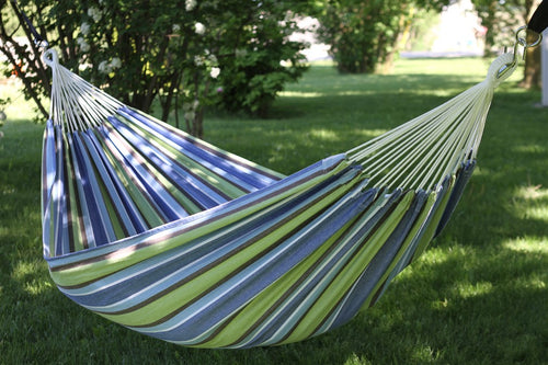Raw Cotton Oasis Deluxe Brazillian Double Hammock