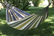 Load image into Gallery viewer, Raw Cotton Desert Moon Deluxe Brazillian Double Hammock