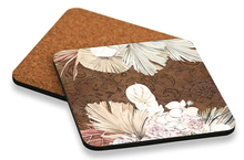 Load image into Gallery viewer, Bismark Foliage Coaster Square Set of 6 10x10cm By Kelly Lane Pazaz Online