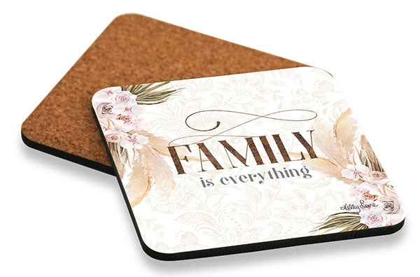 Bismark Family Coaster Square Set of 6 10x10cm By Kelly Lane Pazaz Online