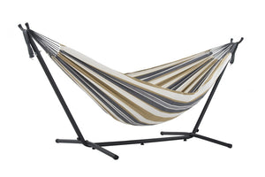 Brazillian Style Outdoor Hammock With Stand