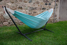 Load image into Gallery viewer, Combo - Double Polyester Hammock with Stand (9ft)