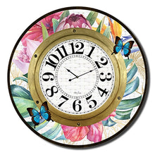 Load image into Gallery viewer, Fiesta Floral Wall Clock By Kelly Lane Pazaz Online