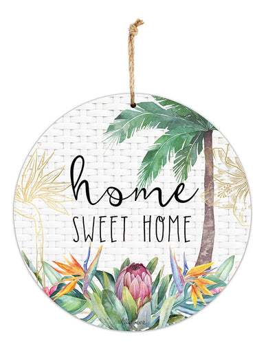 Fiesta Hanging Tin Sign Home By Kelly Lane Pazaz Online