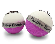 Load image into Gallery viewer, Flower Bomb Bubble Bath Bomb with Pink Lychee Set of 6