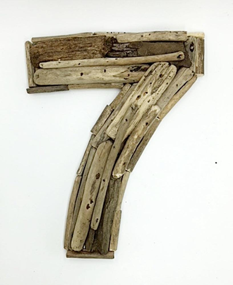 Driftwood House Number 7 Rustic Timber Design