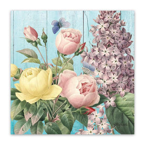 Canvas 20x20 Heirloom PEONY