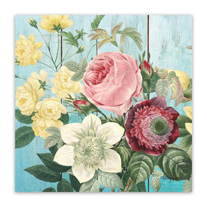 Canvas 20x20 Heirloom ROSE