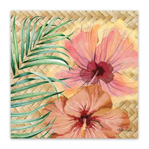Canvas 20x20 Hibiscus
