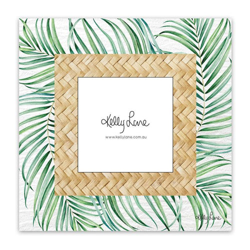 Photo Frame 20x20 4x4 3D Hibiscus PALMS