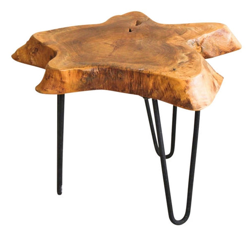 Natives Beeswaxed Side Table Beeswaxed 50x40x25 cm By Kelly Lane Pazaz Online