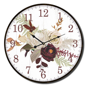 Natives Protea Clock 22cm  By Kelly Lane Pazaz Online