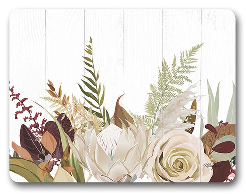 Natives Protea Placemat Set of 6  29x21.5 cm By Kelly Lane Pazaz Online